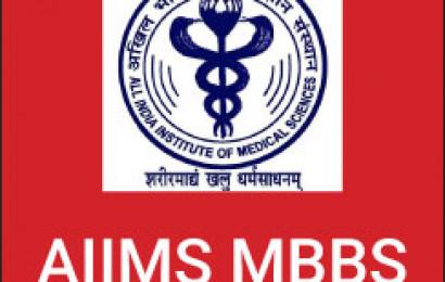 AIIMS MBBS 2017 : MBBS Admission Procedure